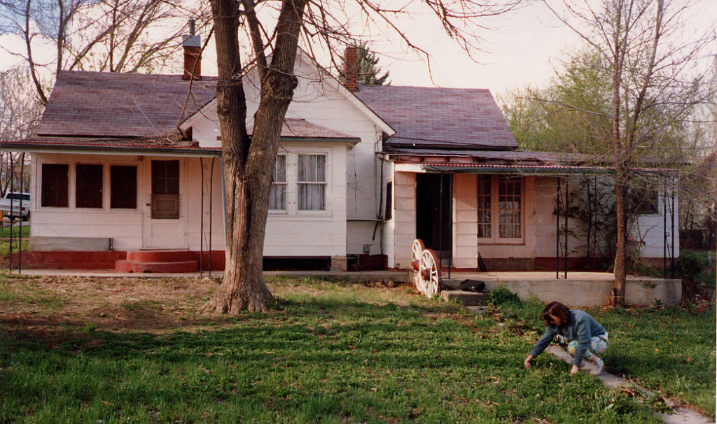 The original small and long-neglected cottage at 202 Grant Street in Longmont, Colo.