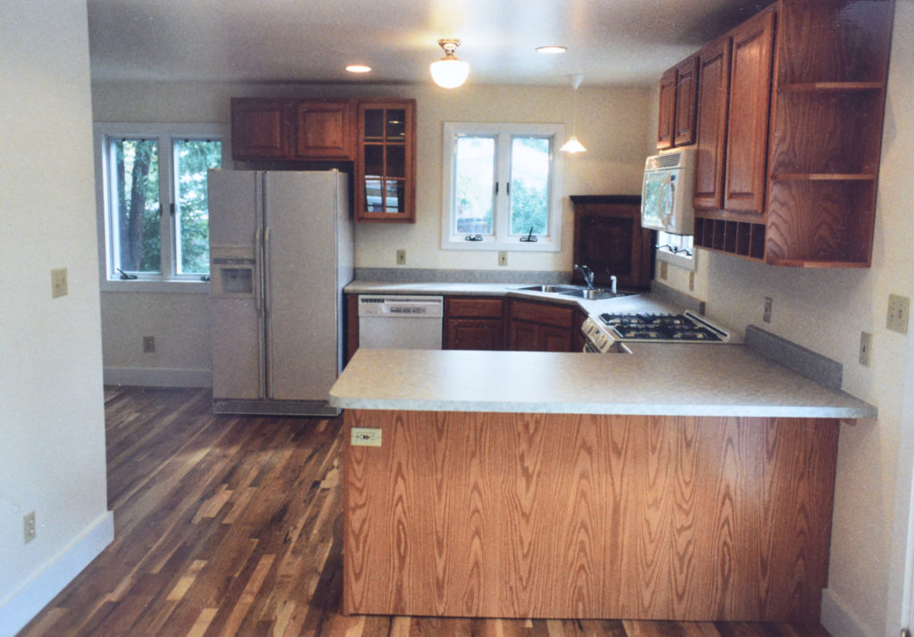 The new kitchen at 700 Dounce Street.