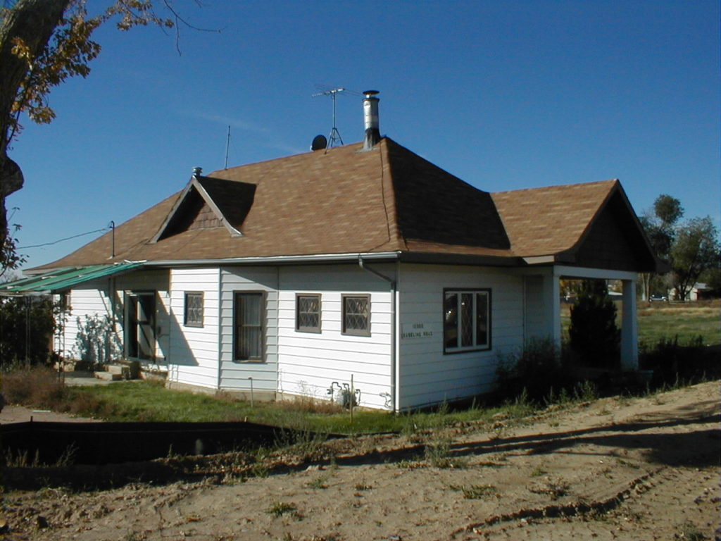 The Bateman House at its Baseline Road location, which is now the Isabelle Farm retail location just north of Waneka Reservoir.